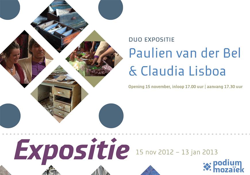 Flyer Expo Van der Bel & Lisboa